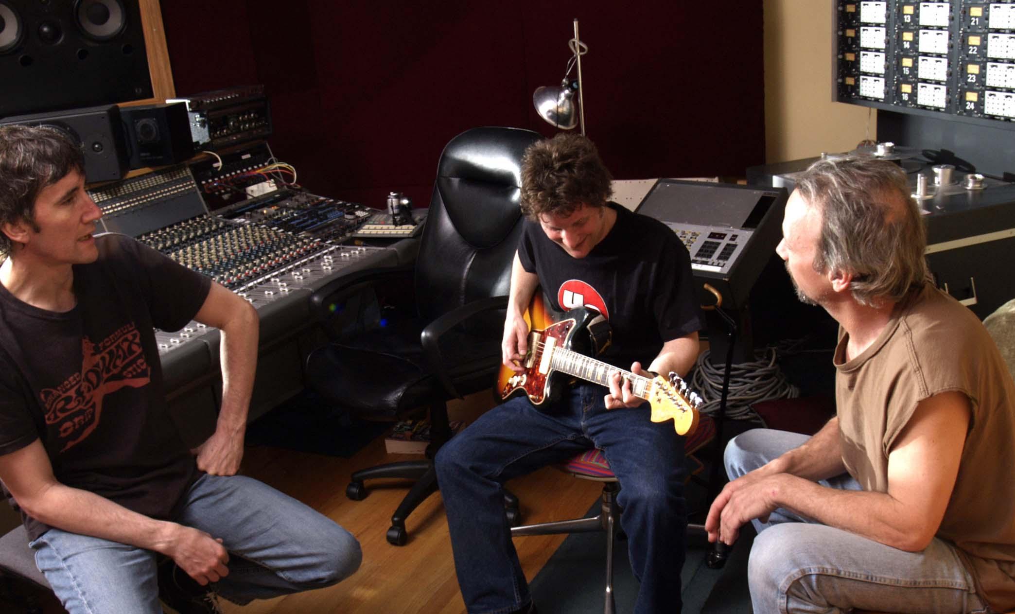 Control Room @ Kissy Pig Studios